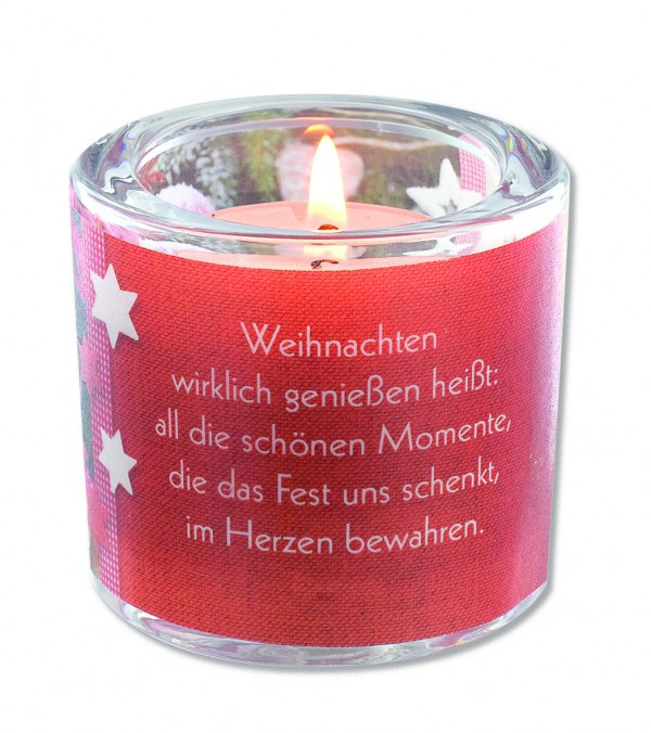 Glaswindlicht Weihnachten, Irmgard Erath