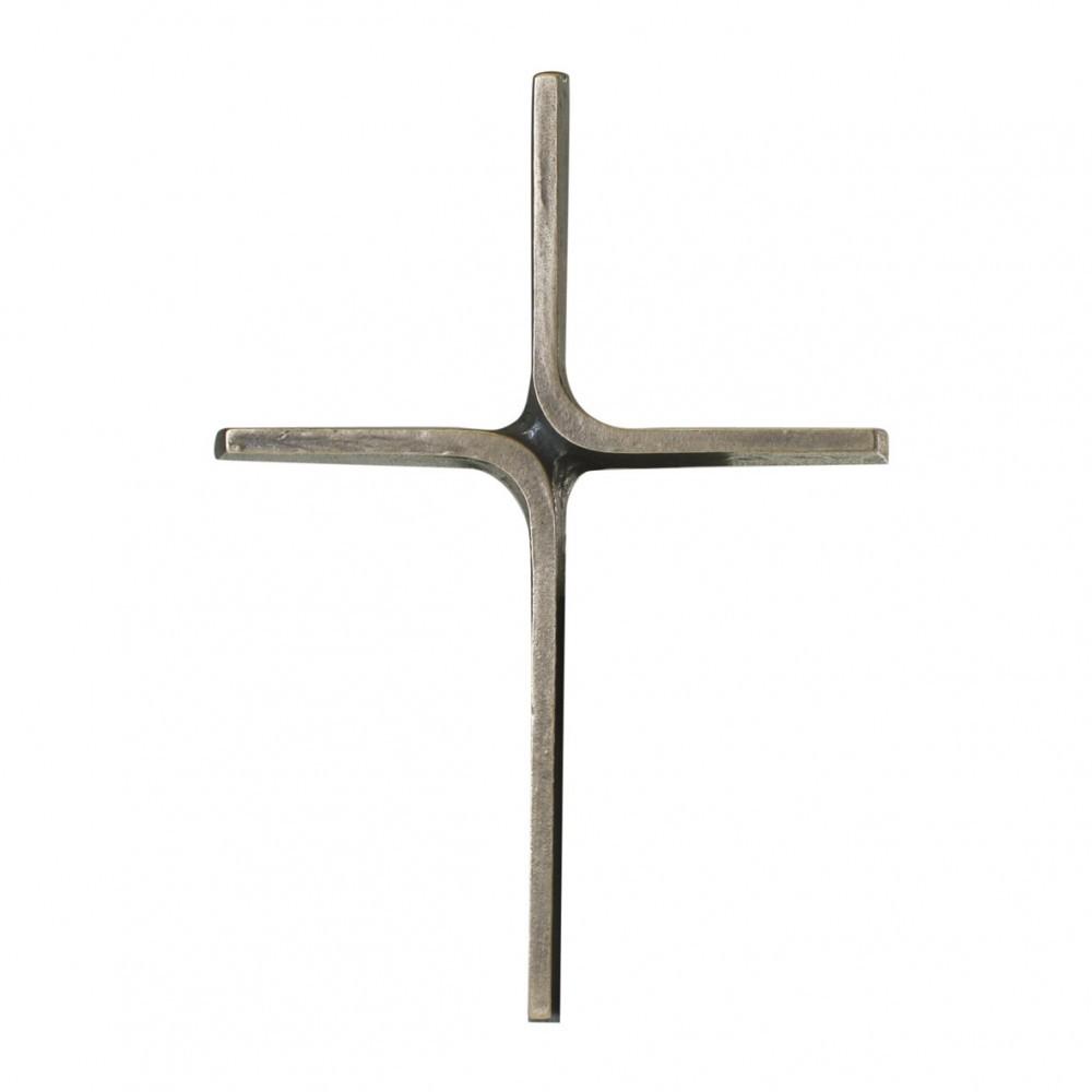 Wandkreuz 20 cm Bronze