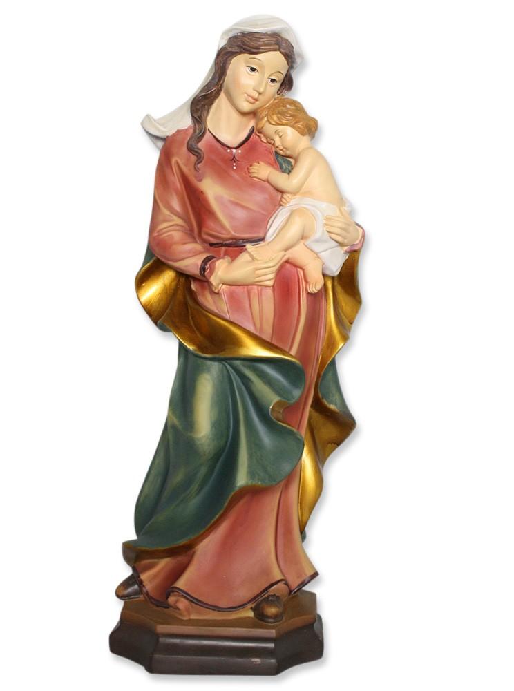 Madonna mit Kind 40 cm Mutter Gottes Statue