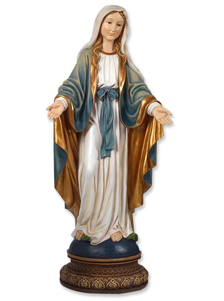 Madonna Empfängnis 107 cm Marienfigur Marienstatue
