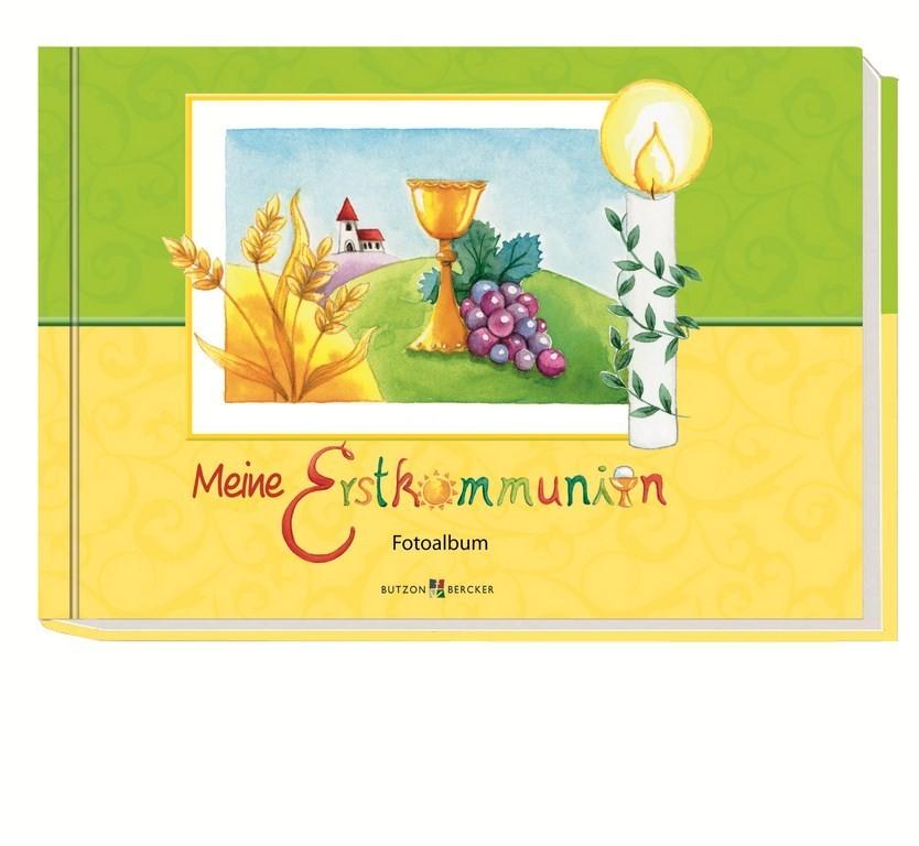 Fotoalbum Meine Erstkommunion 24,5 cm Stickerbogen